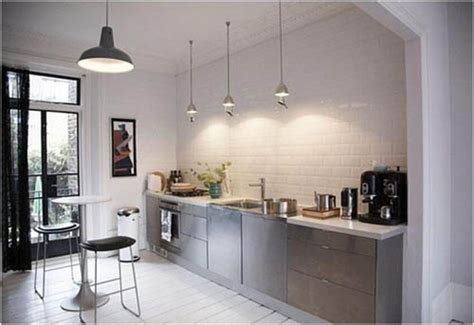 kitchen no cabinets small modern kitchen no upper cabinets kitchens pinterest