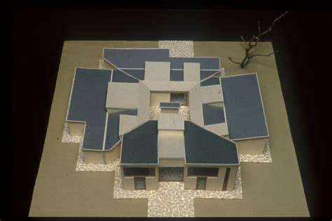 House Plans With Dimensions louis kahn goldenberg house montgomery county