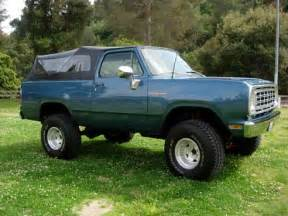 1976 dodge ramcharger pictures cargurus