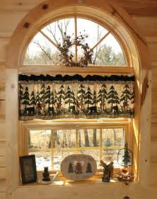 Log Cabin Curtains Build A Cabin 187 Design And Ideas