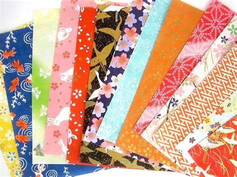 Origami Paper Shop - origami paper pack yuzen japanese paper chiyogami scrapbook