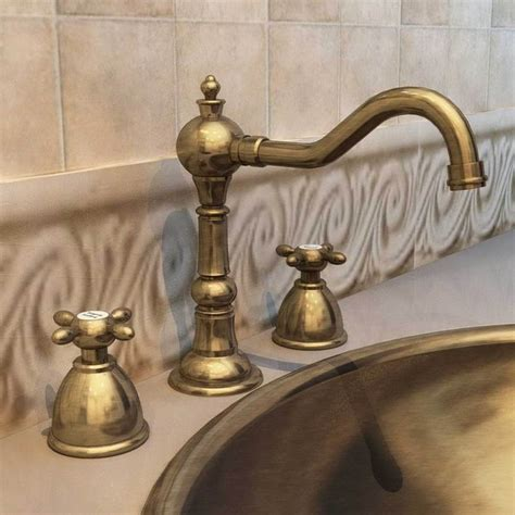 vintage bathroom fixtures antique brass faucet parts nucleus home