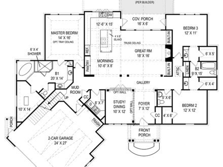 open floor house plans ranch style economical ranch style house plans house plans ranch style home craftsman style ranch house