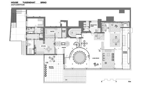 villa tugendhat floor plan the classic villa tugendhat by mies van der rohe restored