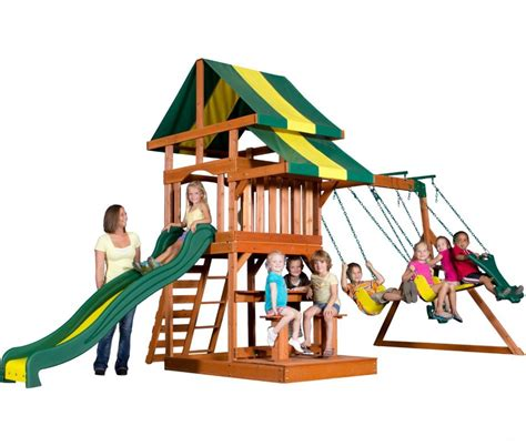 best wooden swing set under 1000 backyard discovery independence wooden swing set playset
