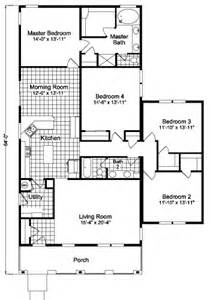 Modular Homes 4 Bedroom Floor Plans by Wilmington 4br Dcq464h7 Modular Home Plan Manufactured