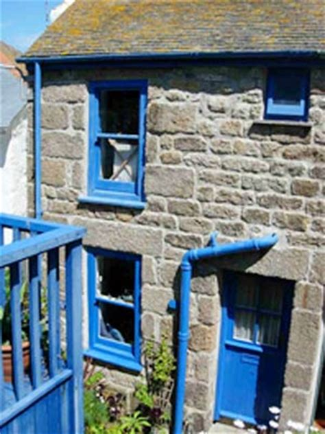 Cottages In St Ives Cornwall by St Ives Fishermans Cottage The Blue House With Sea Views