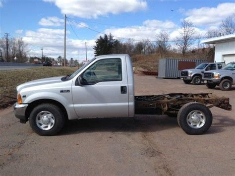 F250 Single Cab Bed by Buy Used 2001 Ford F 250 Silver Regular Cab No Bed