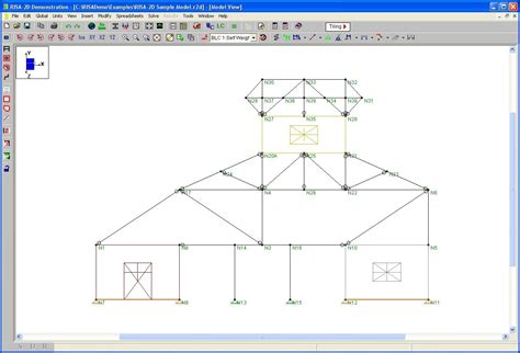 risa section risa demo 2d structural engineering other technical