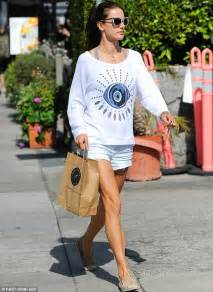 Alessandra Ambrosio Isnt by Alessandra Ambrosio Does The Juice Run In Thigh Skimming