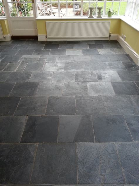 Cleaning and Sealing a Twenty Year Old Slate Floor in