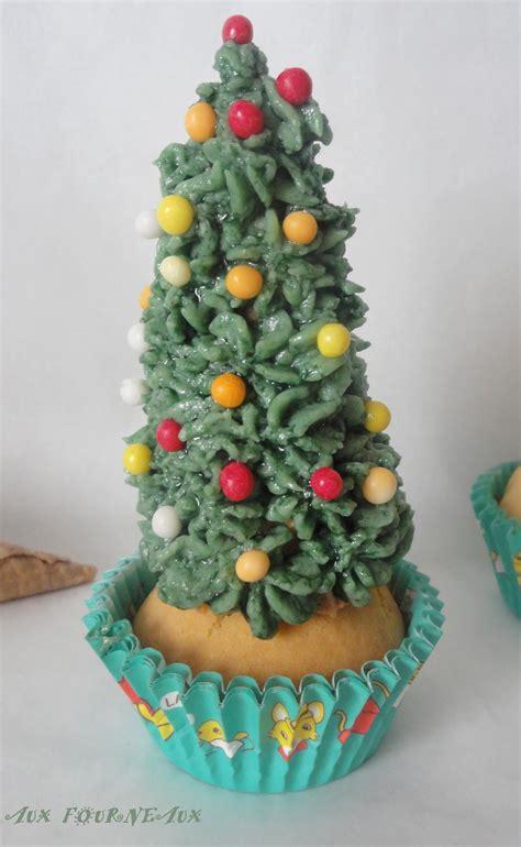 comment faire un cupcake sapin de no 235 l aux fourneaux