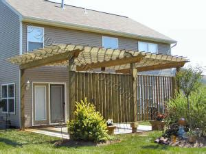 Custom Made Arbors Trellises Pergolas Dayton Ohio Pressure Treated Pergola