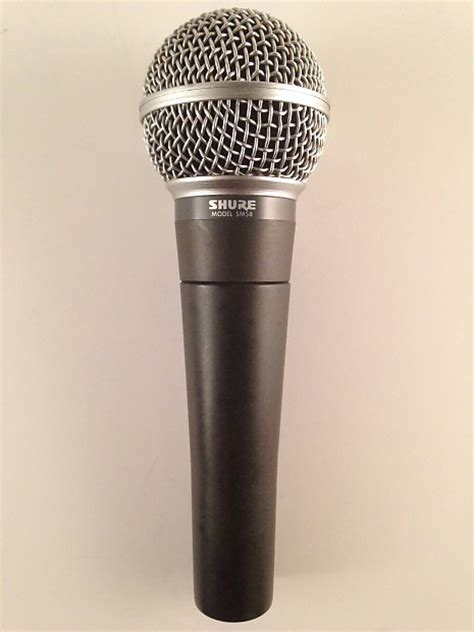 Shure Mic Microphone Kabel Sm 58 vintage shure sm58 microphone made in the usa sm 58 57 reverb