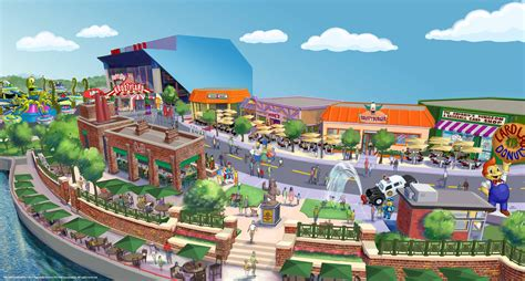 themes park in orlando quot the simpsons quot theme park expansion announced for