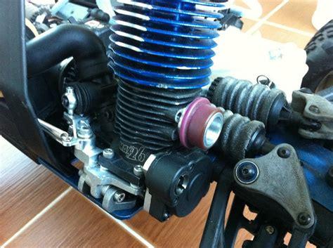 Nitro Engine Picco 26 For Traxxas Revo With Engine Mount picco 26 and traxxas big block pipe adapter rcnitrotalk rc forum