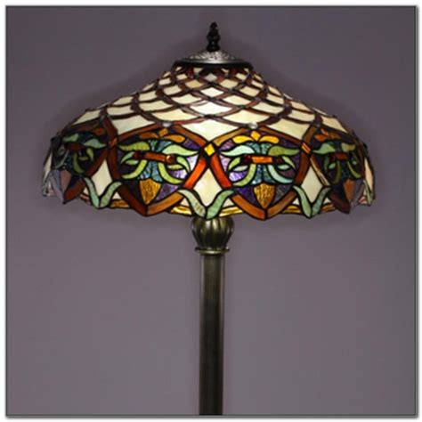 tiffany style l shades replacement tiffany style glass torchiere floor l ls home