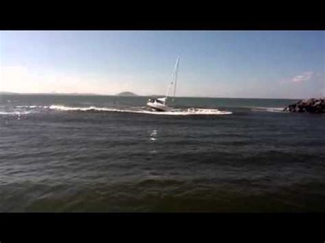 fishing boat hit by yacht waves hit fishing boat doovi
