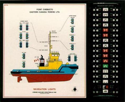 tug boat lights navigation light mimic