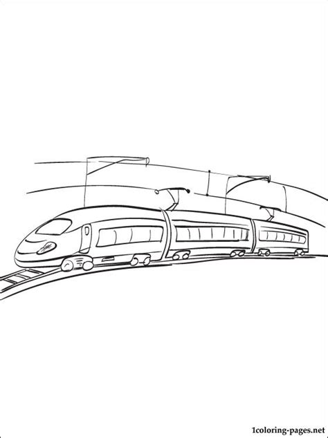 electric train coloring page electric train coloring page coloring pages