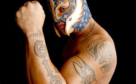 rey mysterio tattoos 53 best mysterio images on professional