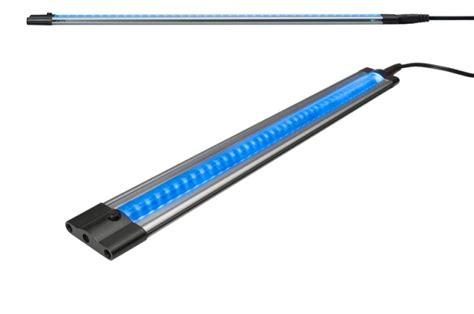 blue cabinet lighting 5 watt 500mm led slim flat cabinet linear