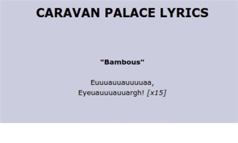 tattoo caravan palace lyrics 25 best memes about caravan palace caravan palace memes