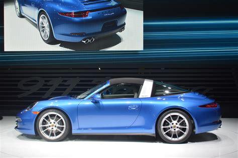 Porsche Targa 2014 by 2014 Porsche 911 Targa Comes With A Classic Roof Design