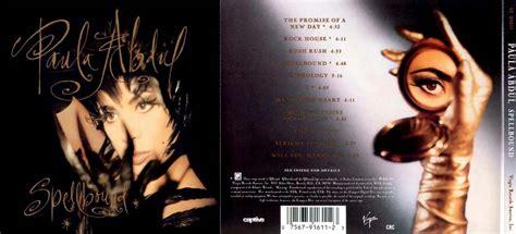 Kaset Paula Abdul Spellboud albums cd pop rock