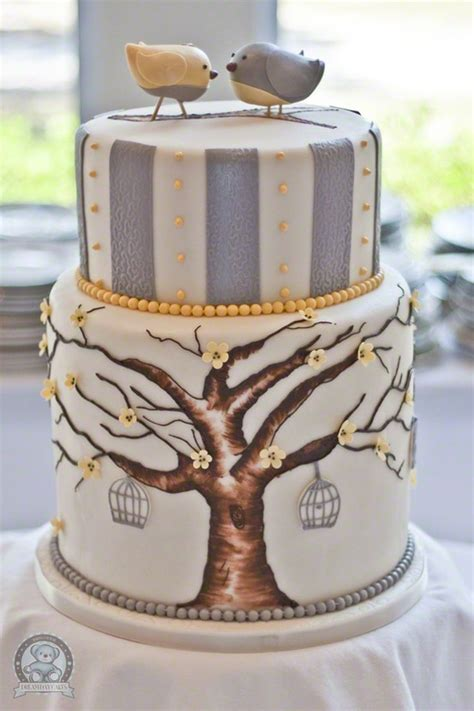 Hand Painted Wedding Cakes ? Wedding Cake Design #805071   Weddbook