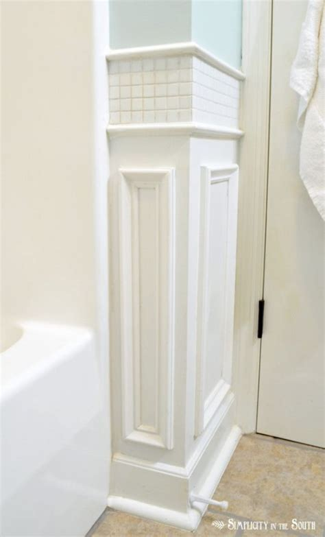 bathroom molding ideas pictures tile and wainscoting ideas on