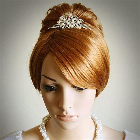 Vintage Style Wedding Hair Accessories by Vintage Style Wedding Bridal Tiara