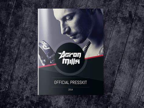 Dj And Musician Press Kit Template On Behance Musician Press Kit Template Free