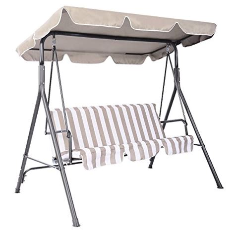 swing bench canopy replacement tangkula swing top cover canopy for bench replacement