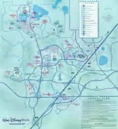 Disney World Transportation Map by Walt Disney World Disney World Vacation Information