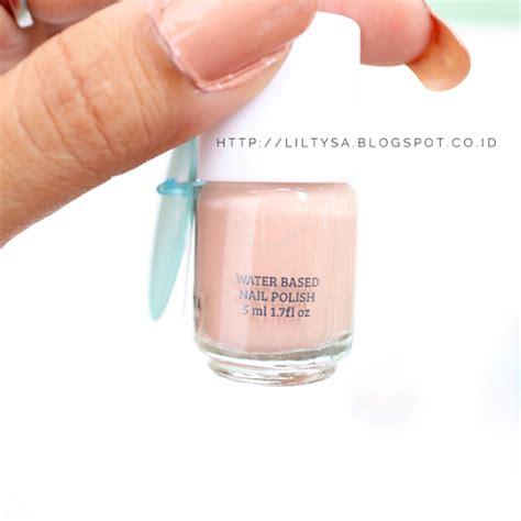 Emina Nail emina water based nail review