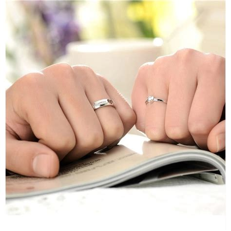 Cincin Wanita Korea Jepang White Murah and shaped ring korean version for