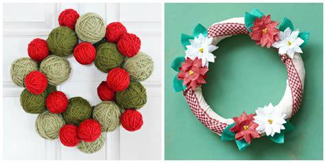 craft wreaths 40 diy wreath ideas how to make
