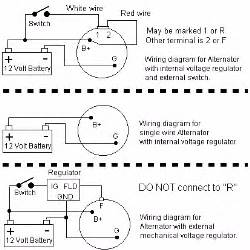 gm 3 wire alternator wiring diagram how to wire a three wire alternator 3 wire alternator wiring