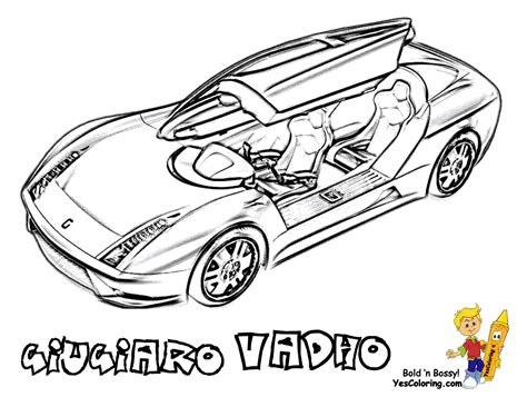 hair raising cars coloring pages cars pagani