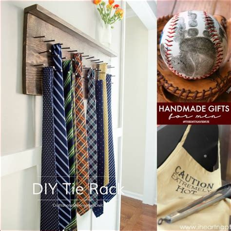 Handmade Gift Ideas For Him - handmade gift tutorials for the 36th avenue