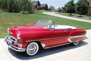 1953 chevrolet convertible 1953 classic chevrolet