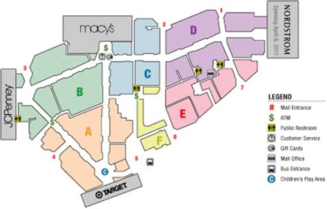 layout of christiana mall for more information call 1 866 504 9860