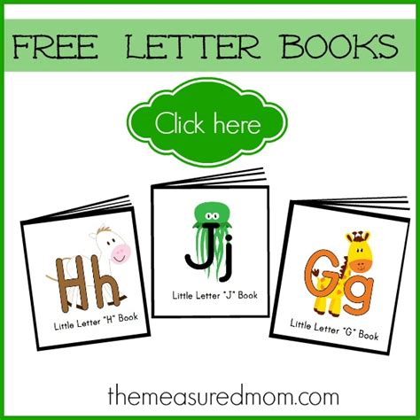 letters to my we ve got you books exploring the free printables you can find at the measured