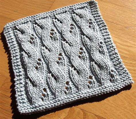 cable knit dishcloth pattern 17 best images about knitting on free pattern