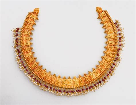 light weight gold necklace designs indian jewellery and clothing short length light weight