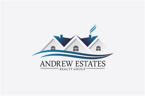 real estate logo templates real estate logo v3 logo templates on creative market