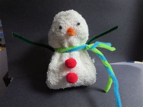 Washcloth Origami - washcloth folding craft snowman washcloth craft