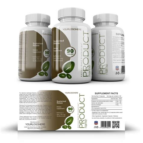 supplement label template supplement label template yupidesigns