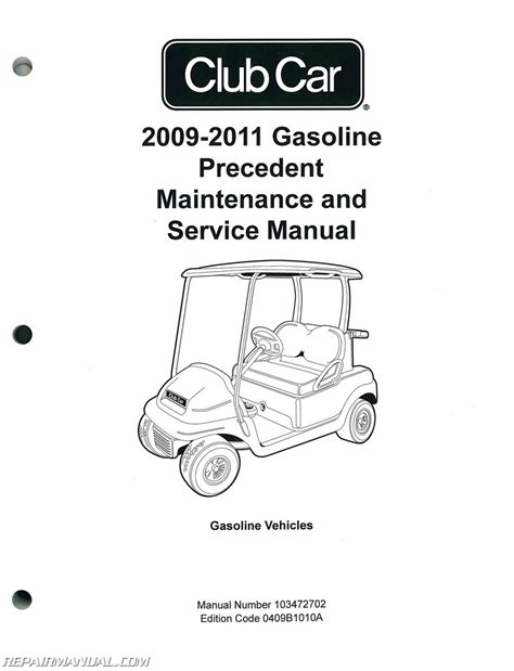 service manual car owners manuals for sale 2011 lincoln navigator l head up display 2009 2011 club car gasoline precedent maintenance and service manual